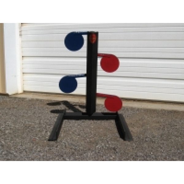 4 Paddle Dueling Trees Target Stands