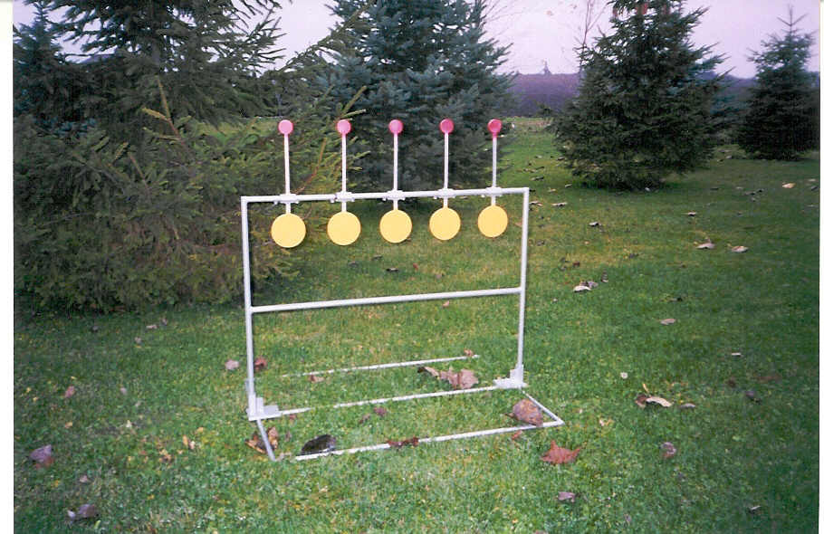 Biathlon Practice Target - Rimfire