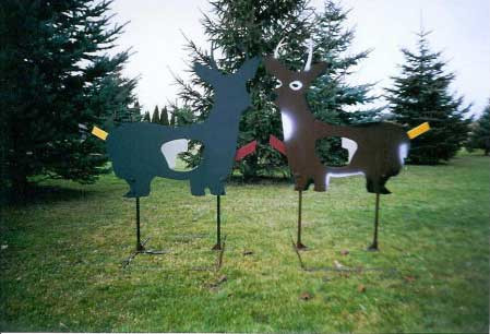 Life-Size Deer with Swing-Out Vitals-All