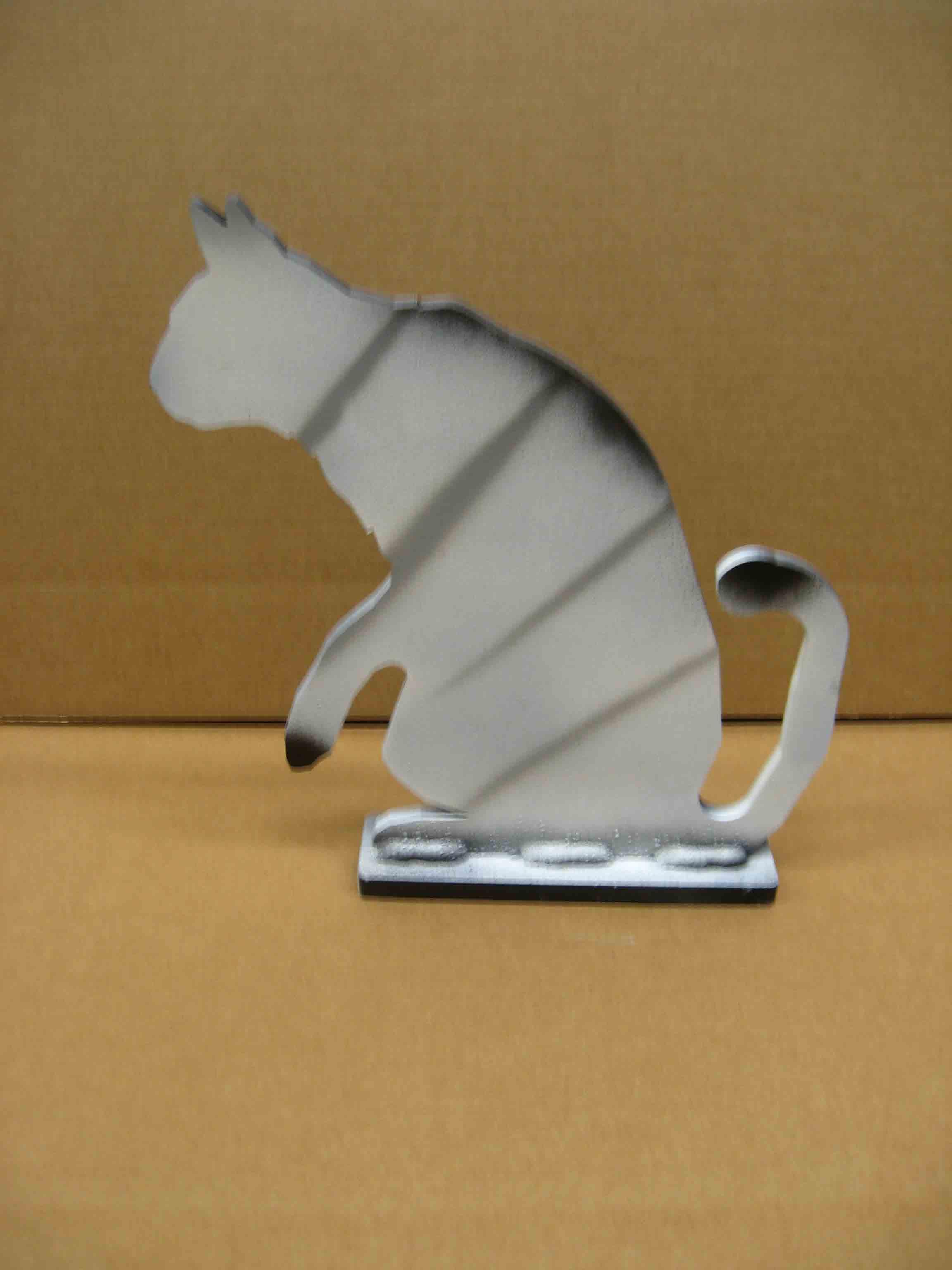 Knock-Down Cat Silhouette-Pistol*