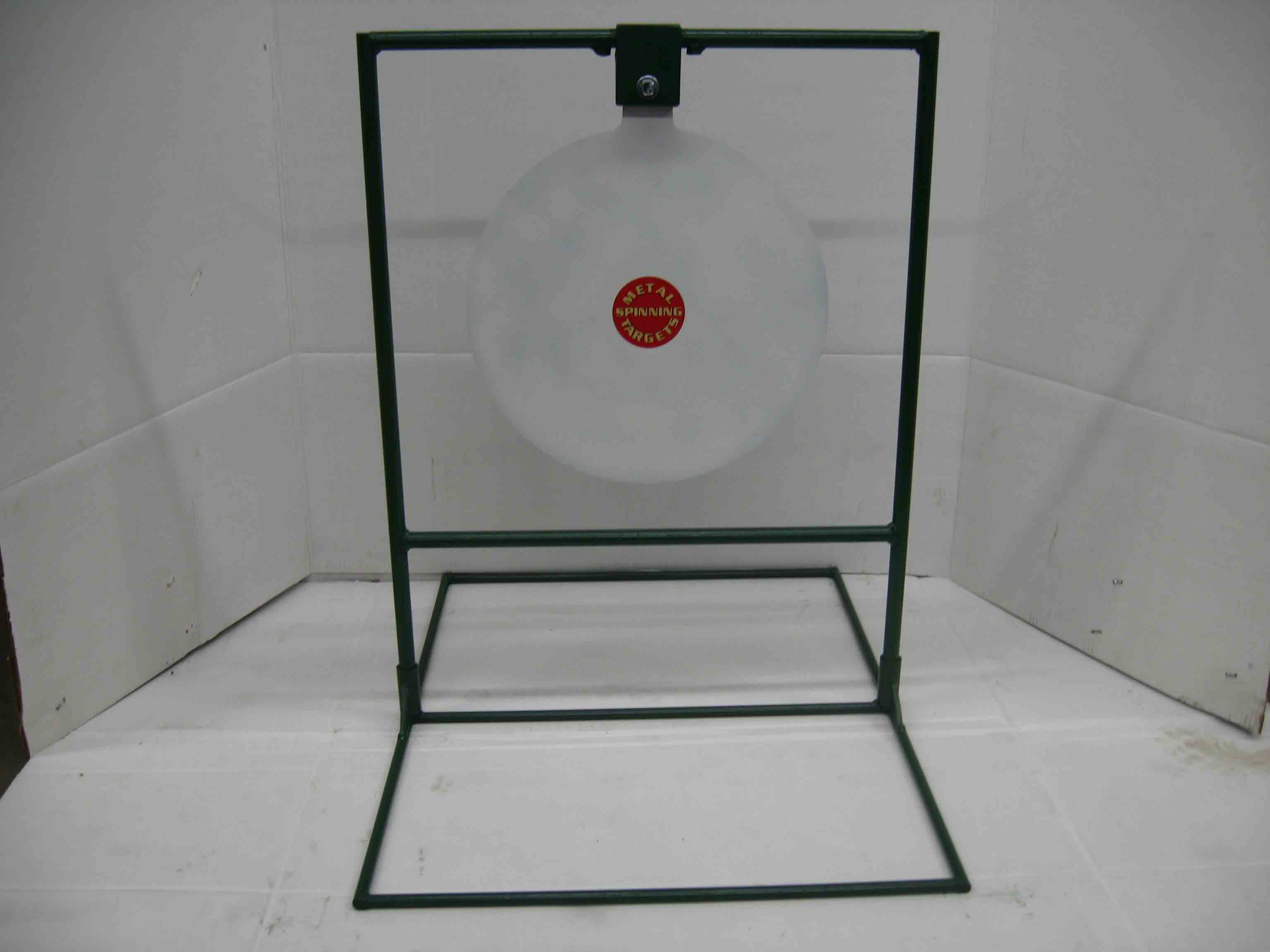 "15"" Circle Gong Standard Rifle Target Stands"