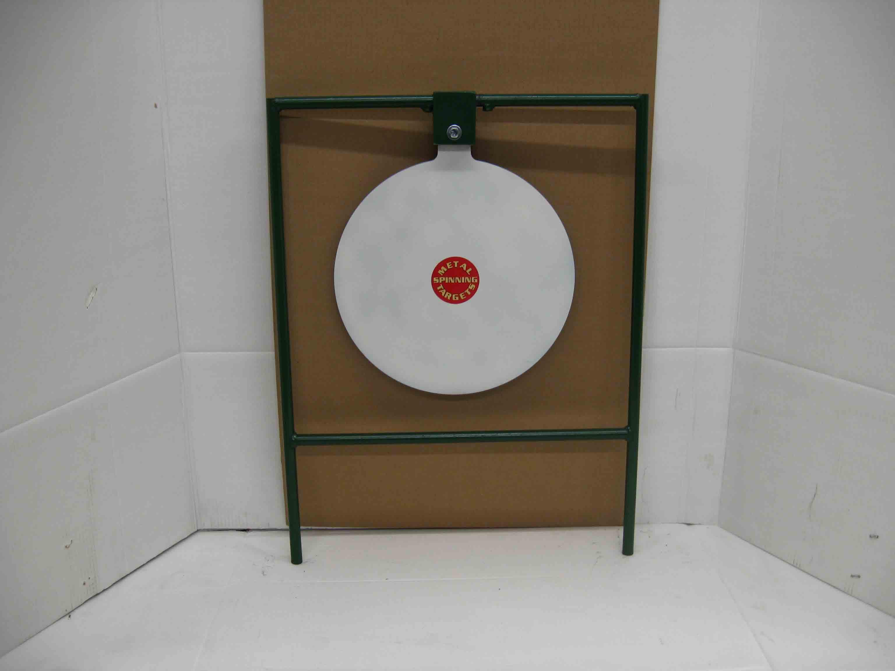"15"" Circle Gong Standard Pistol Target Stands"