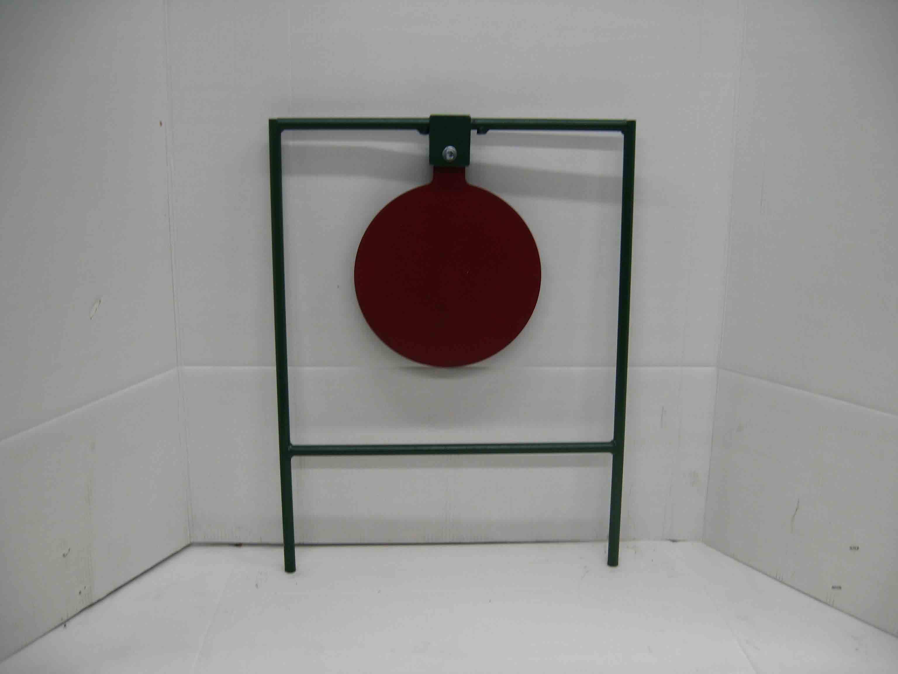 Large 12-inch gong shooting metal target