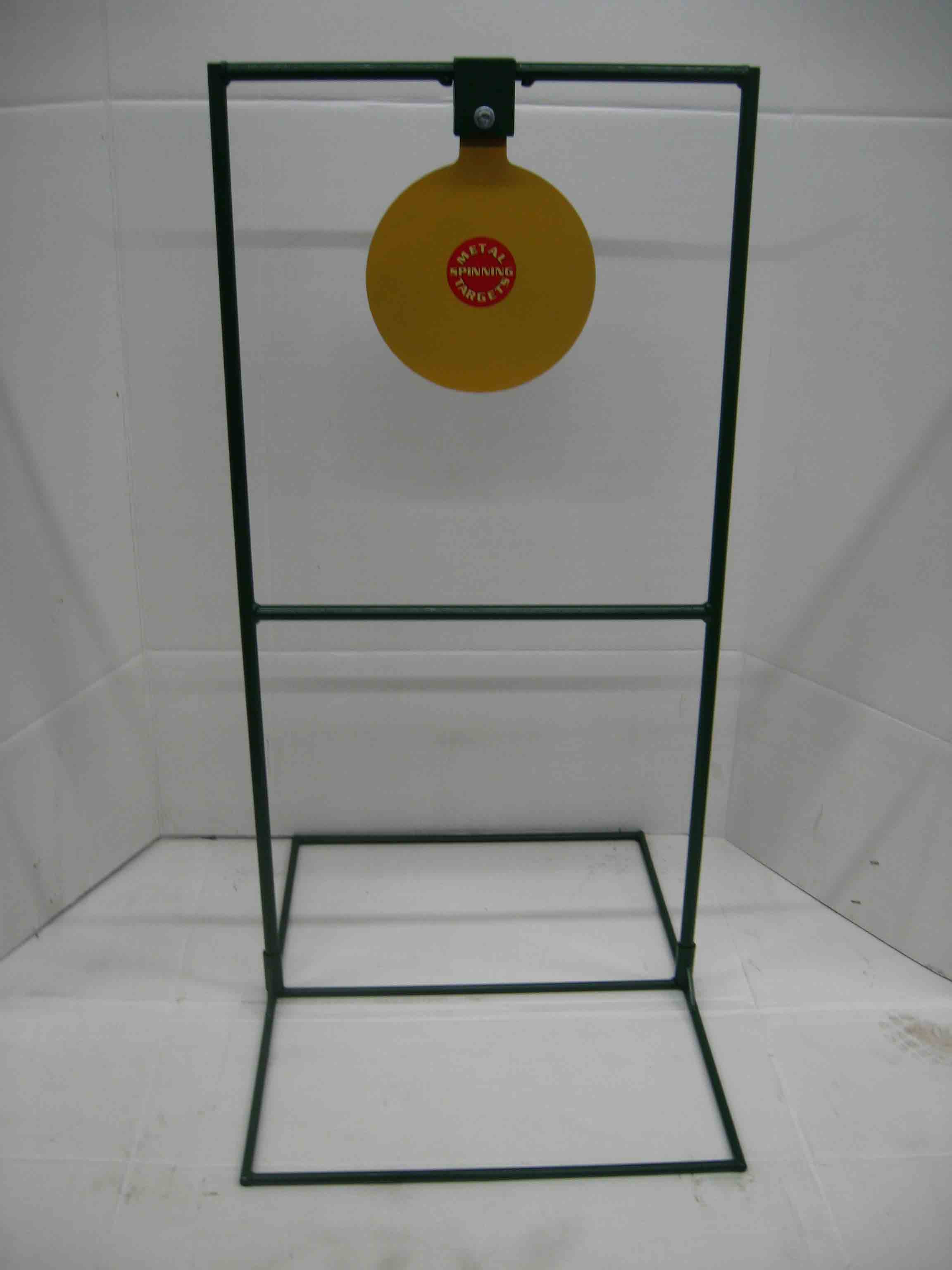 "10"" Circle Gong Tall Boy Target- Rifle*"