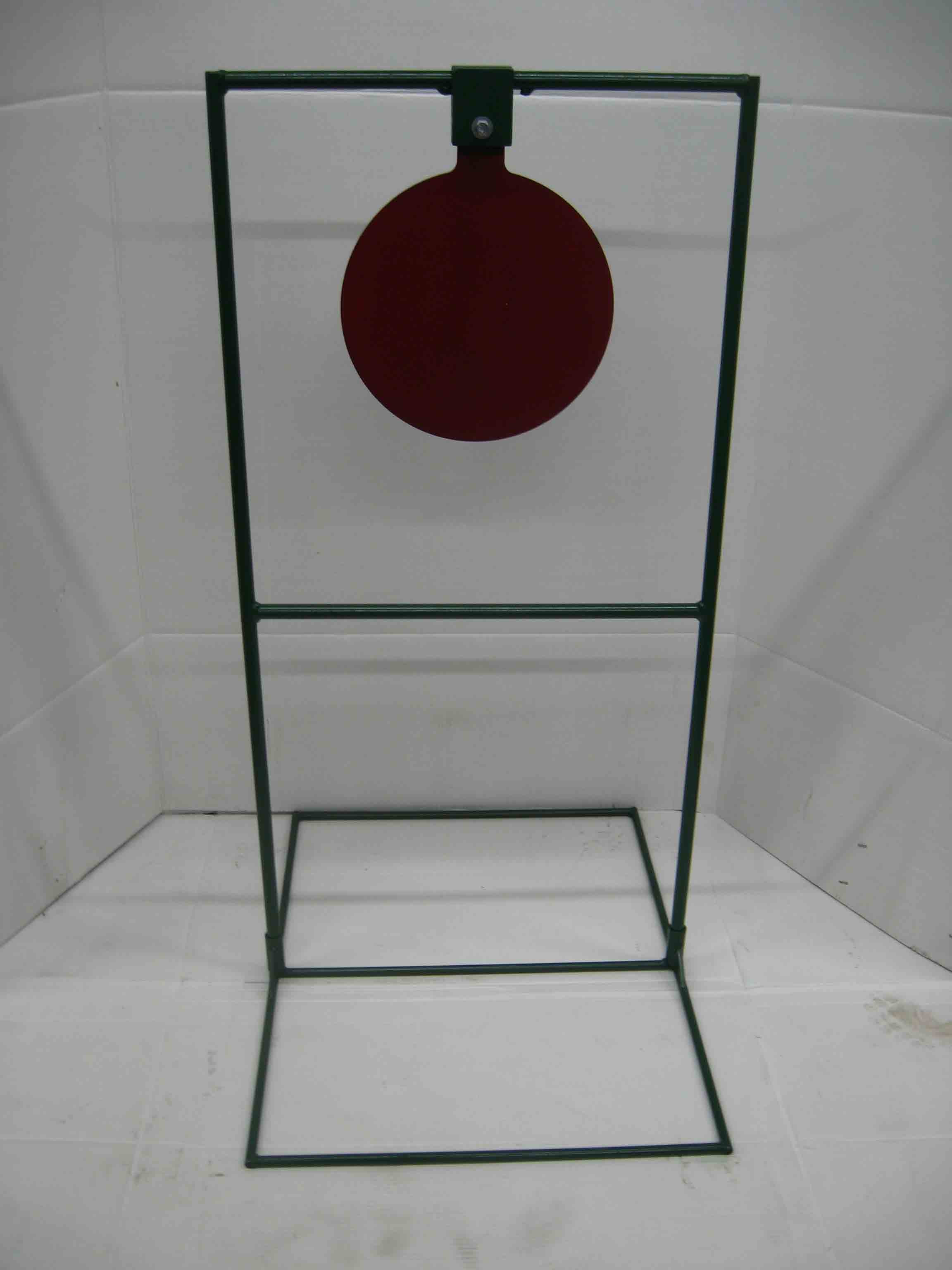 "12"" Circle Gong Tall Boy Target Stands & Reset Targets"