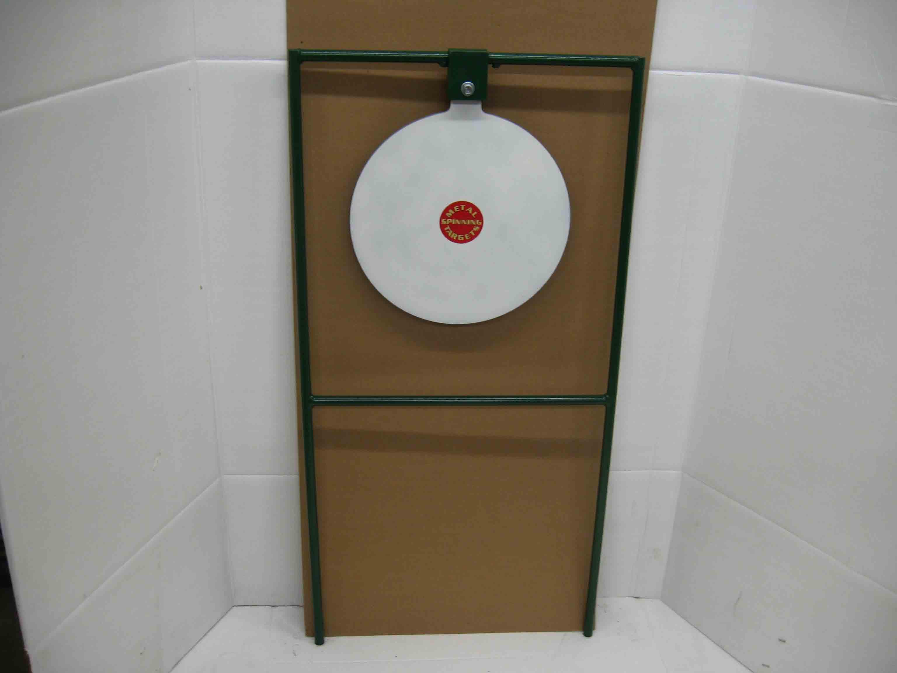 15-inch circle gong swinger steel shooting targets
