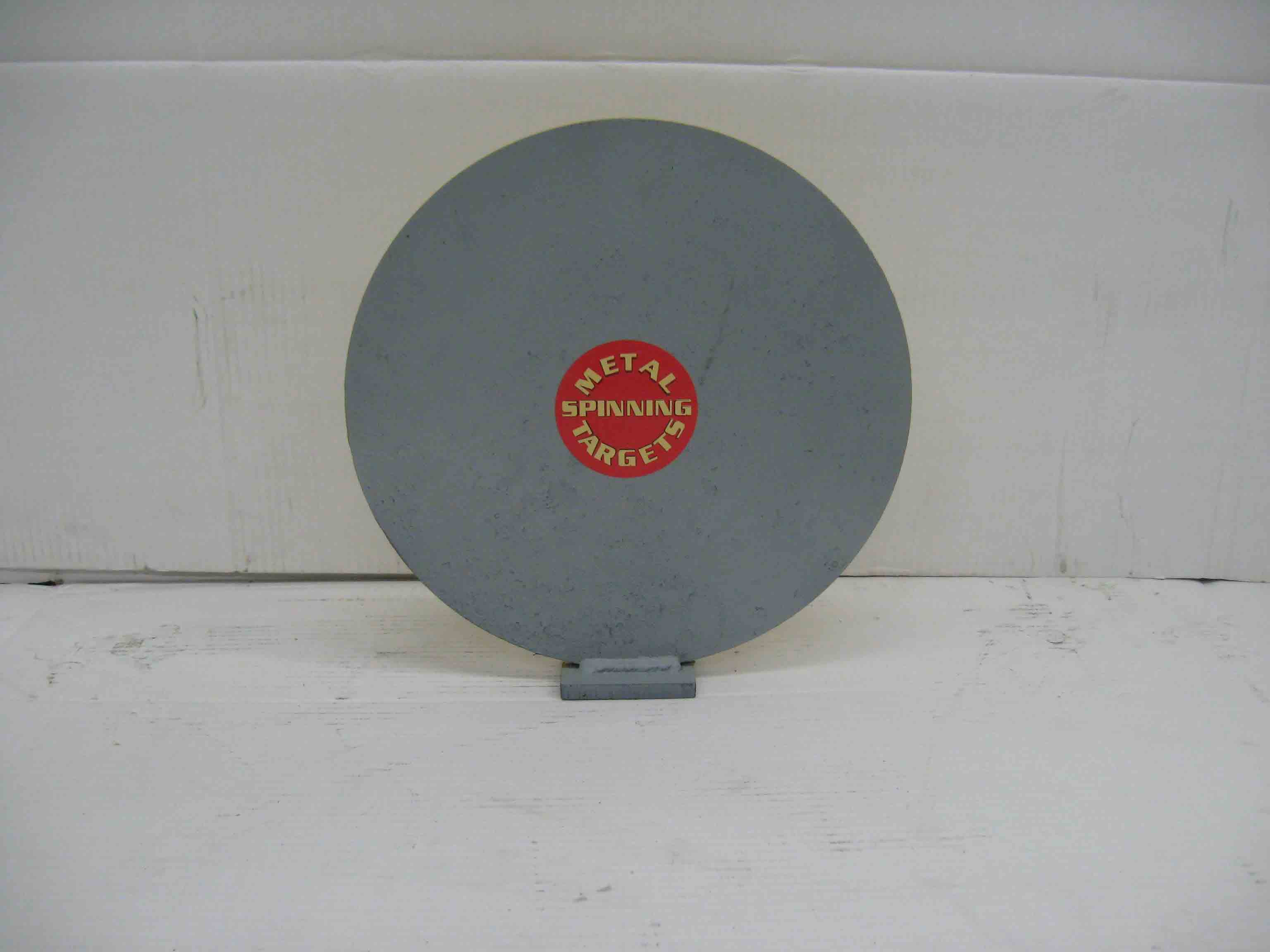 "12"" Single Knock Down Plate - Rifle Steel Shooting Targets"