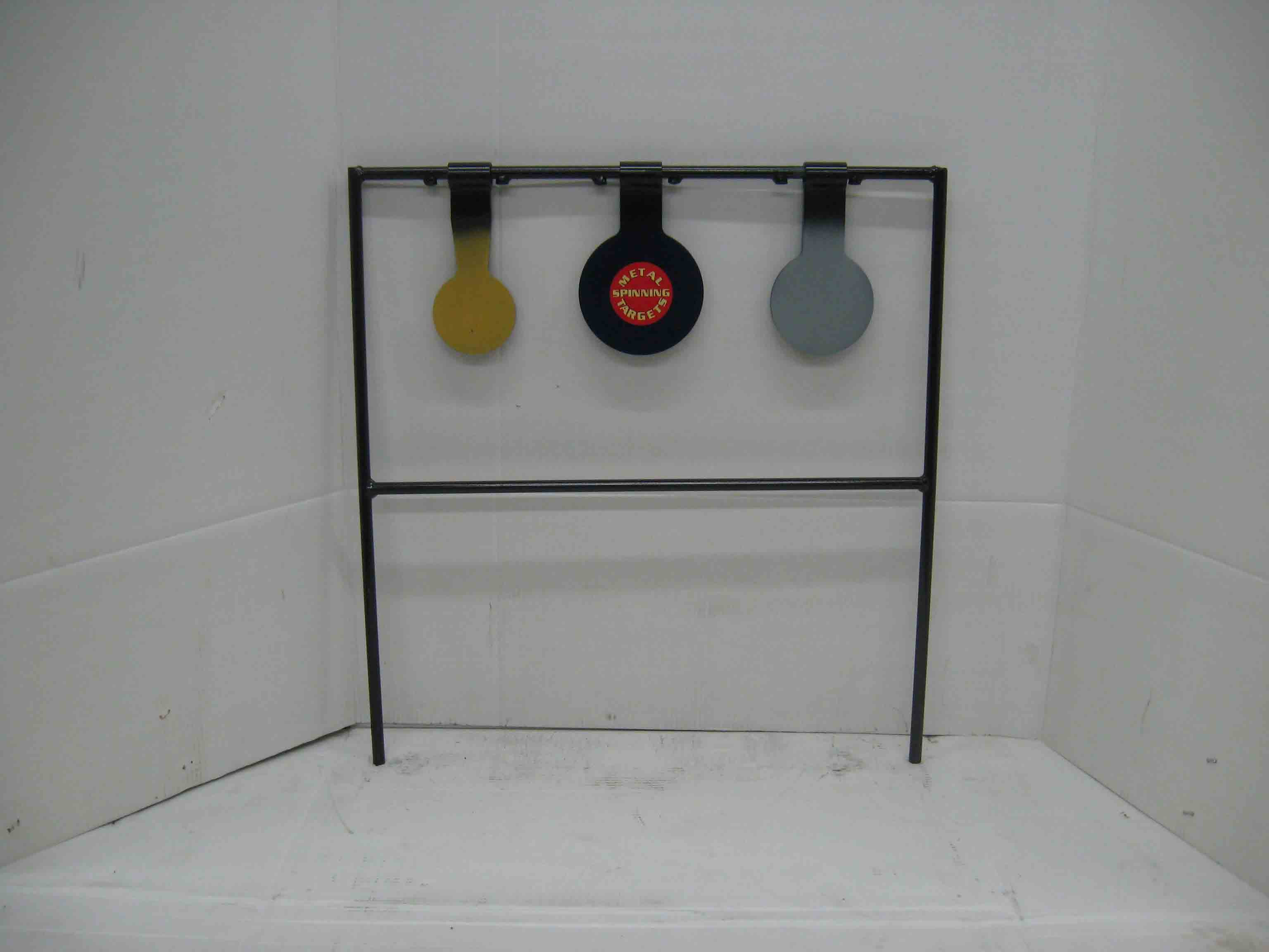 Triple metal shooting metal targets