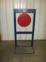 "The Invincible: High-Velocity Rifle Target-15"" Circle-Rifle"