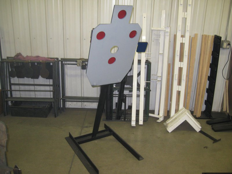 Holy IPSC Trainer Target - Rifle