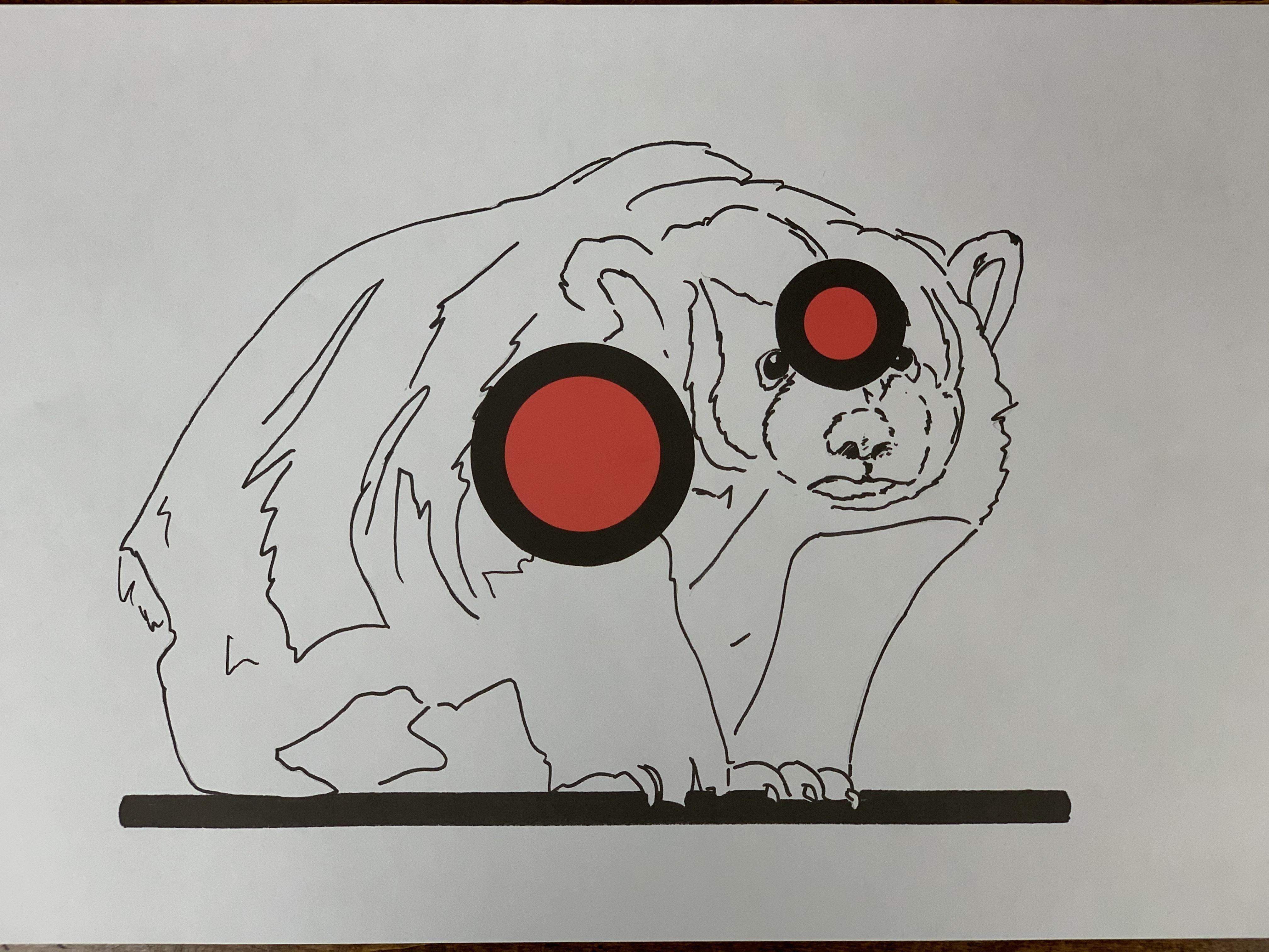 Badger Paper Target - 10 Pack
