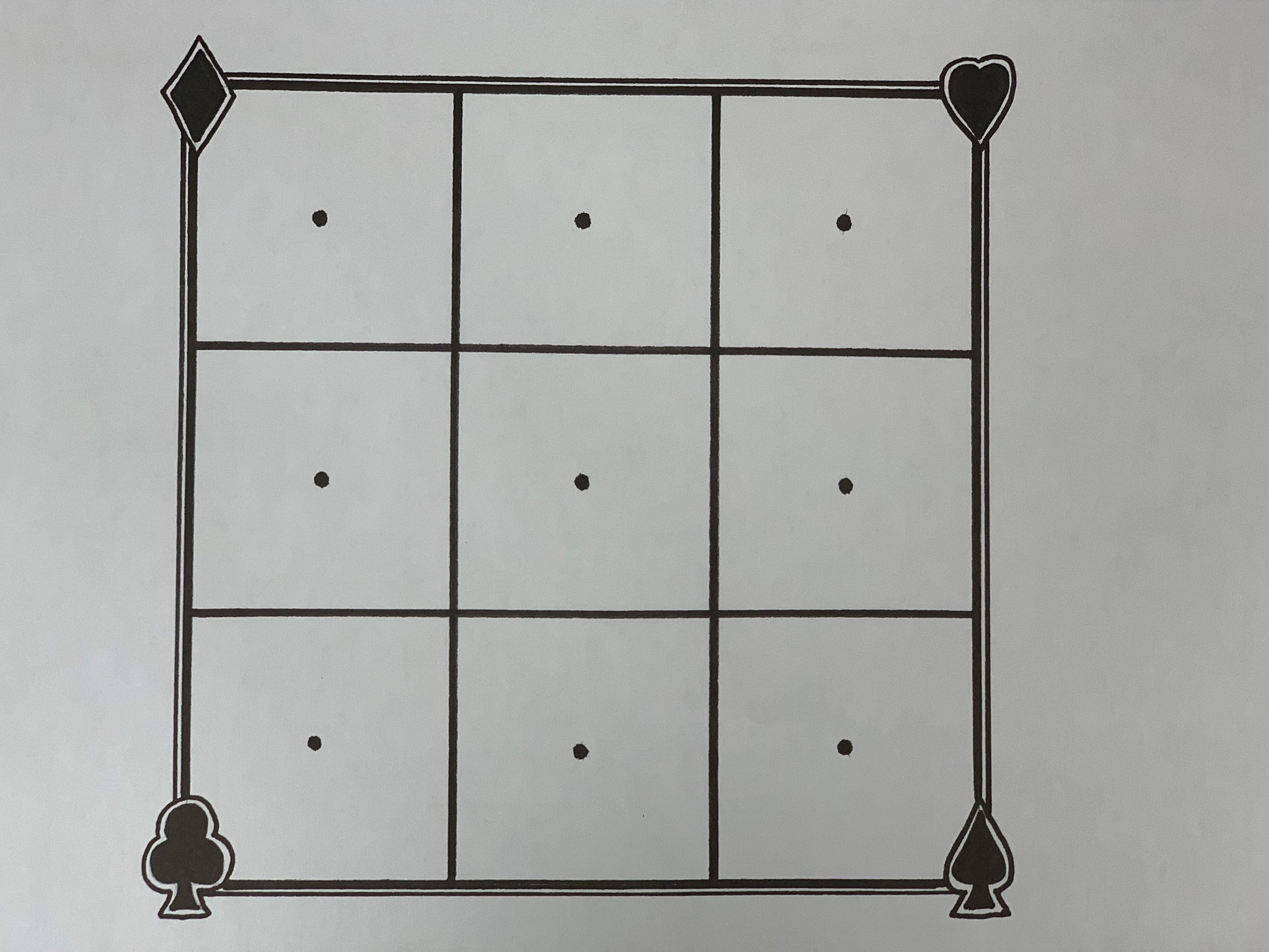 Tic-Tac-Toe Paper Target - 10 Pack