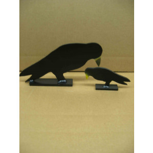Knock-Down Crow Silhouette-Rimfire*