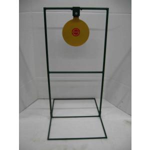 "10"" Circle Gong Tall Boy Target- Pistol*"
