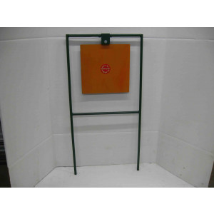 "15"" Square Steel Shooting Target - Rifle Target Stands"