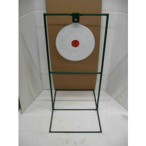 15-inch circle gong swinger steel shooting targets with optional base