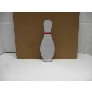 Bowling Pin Knock Down Plate Steel Shooting Targets