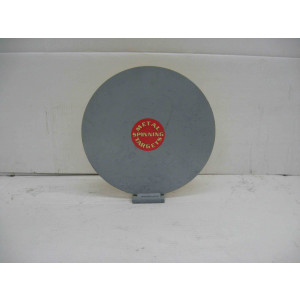 "12"" Single Knock Down Plate - Rimfire Steel Shooting Targets"