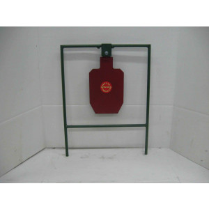 1/2 Scale Single Standard IPSC Swingers Target - Pistol*