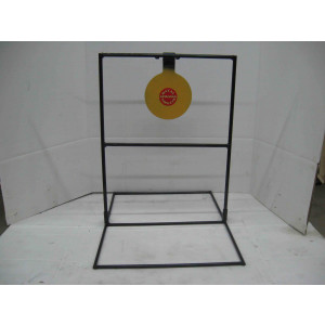 Single large steel shooting target