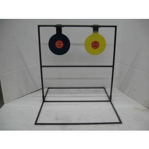 Double Large Spinning Metal Target- Pistol*