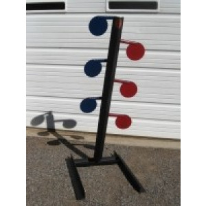 Six Plate Dueling Tree Target Stands