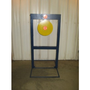 "The Invincible: High-Velocity Rifle Target-12"" Circle-Rifle"