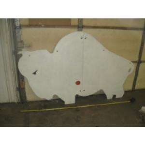 Large Buffalo Target