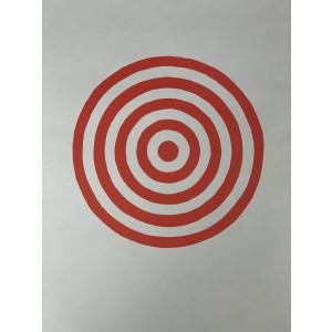 Bullseye Paper Target - 10 Pack