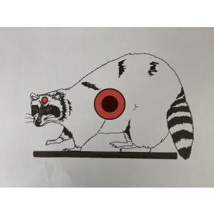 Raccoon Paper Target - 10 Pack